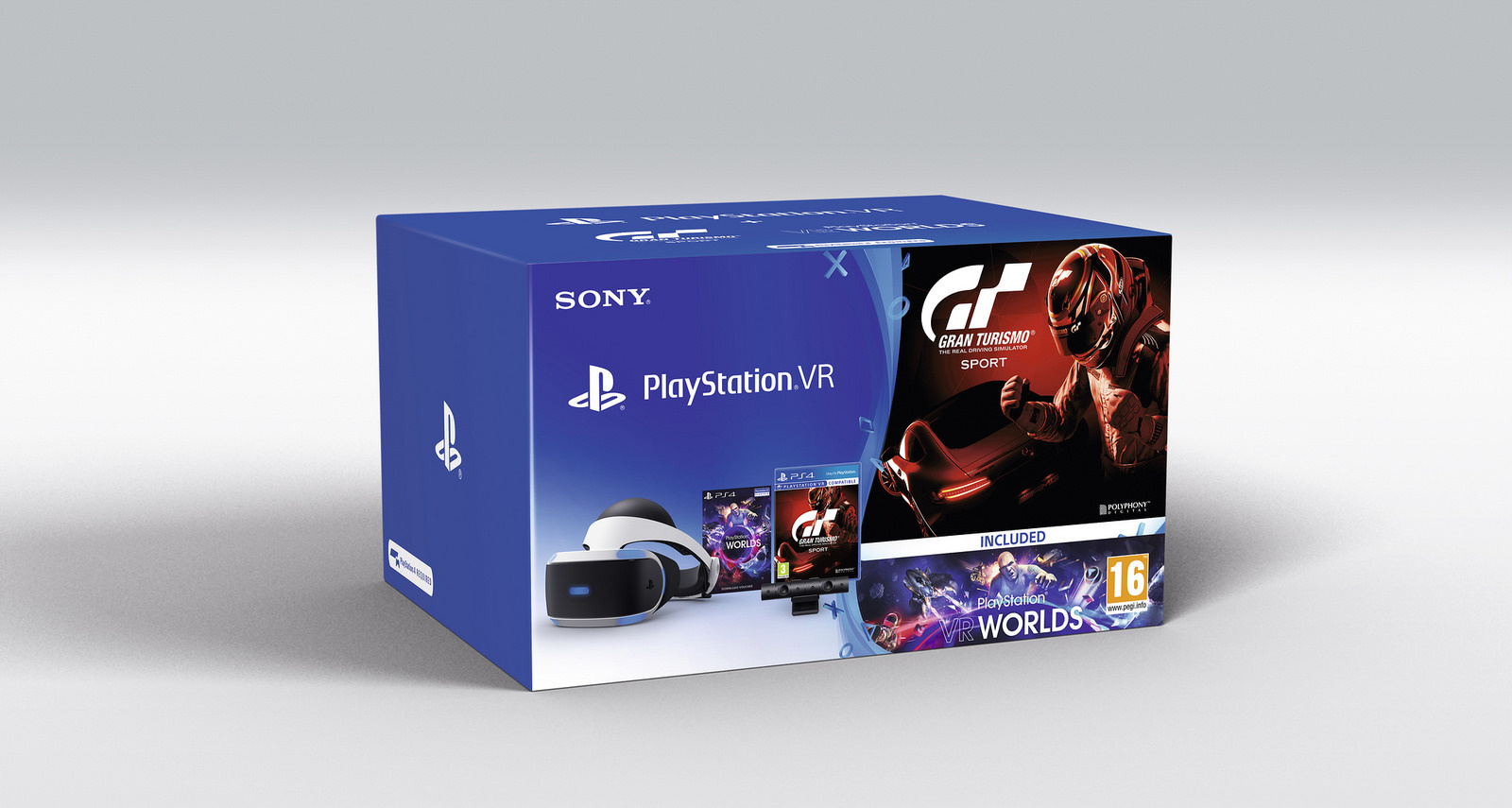 PlayStation VR PSVR PS4 4 1 Gran Turismo Sports