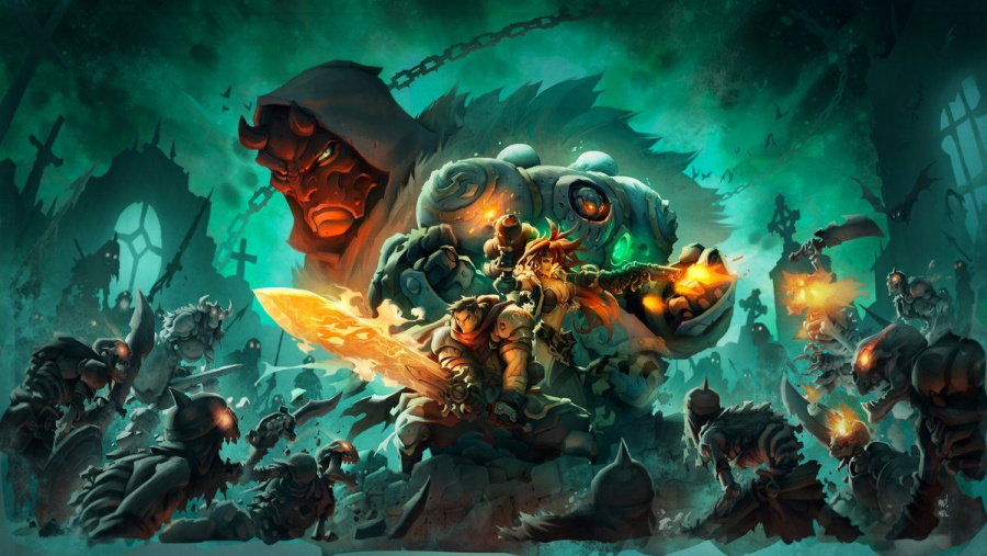 Battle Chasers Nightwar PS4 PlayStation 4 1