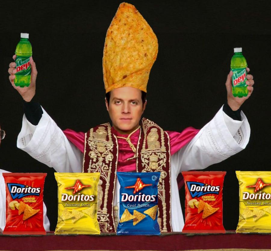 Doritos Pope Geoff Keighley 1