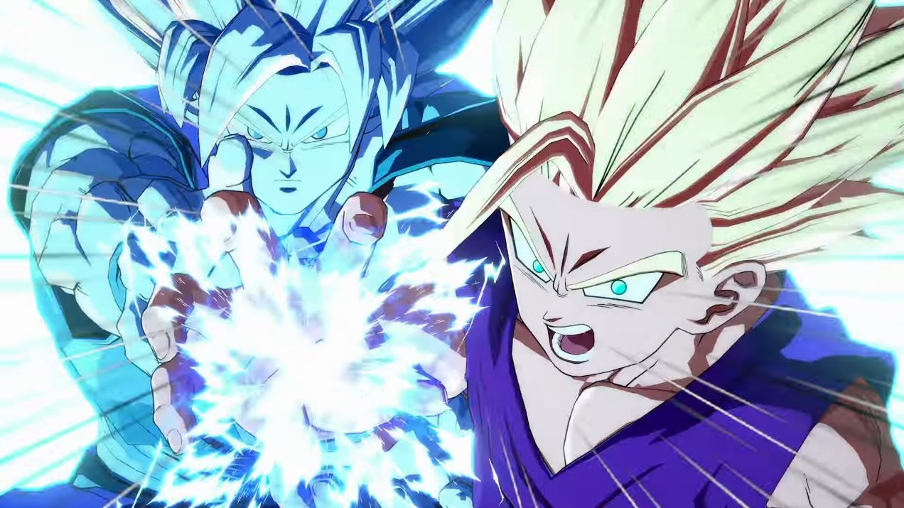 Here's Gotenks in Dragon Ball FighterZ