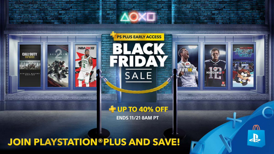 Black friday deals playstation store 2018