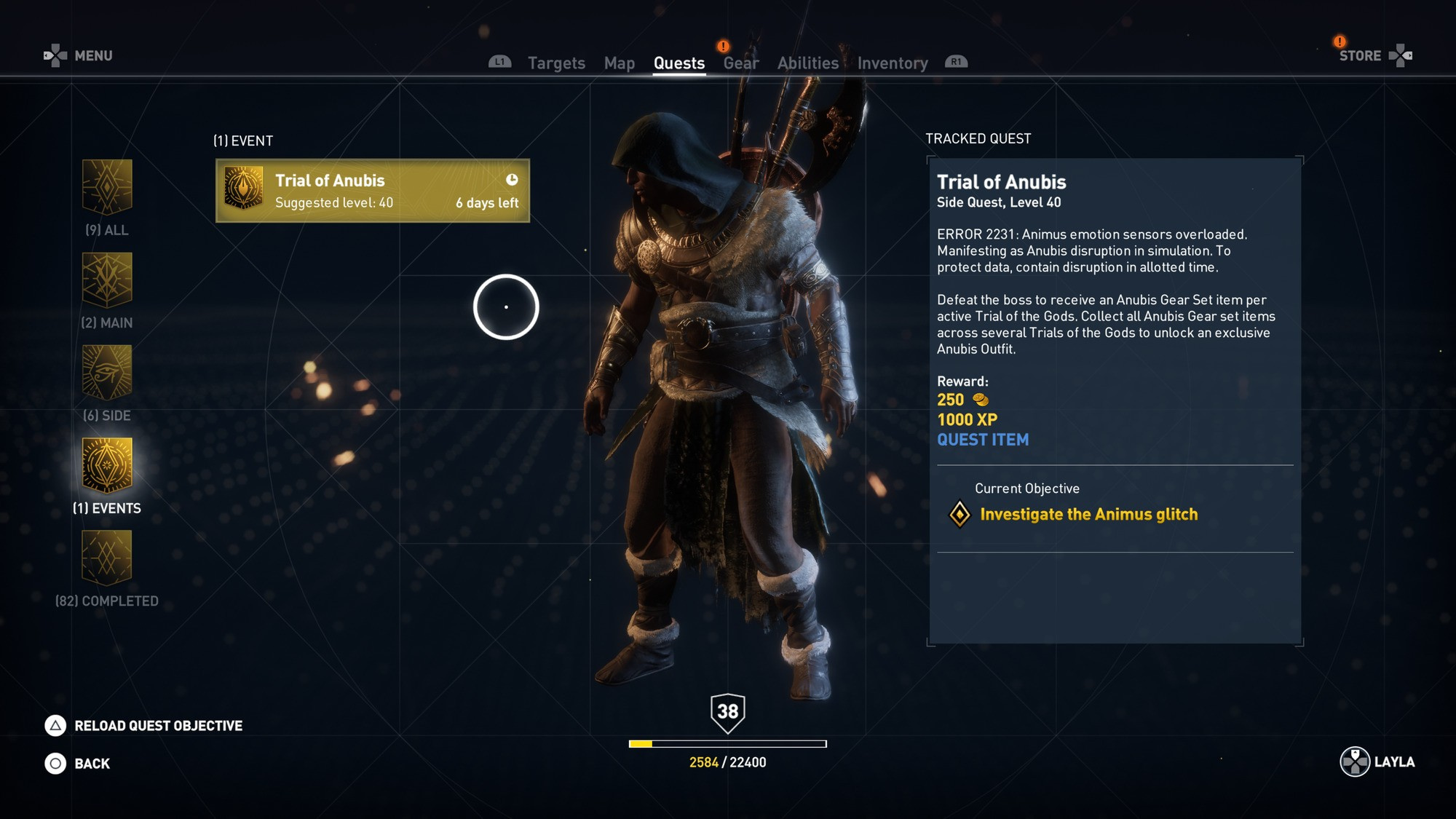 Assassin's Creed Origins Anubis Event - Where to Find ...