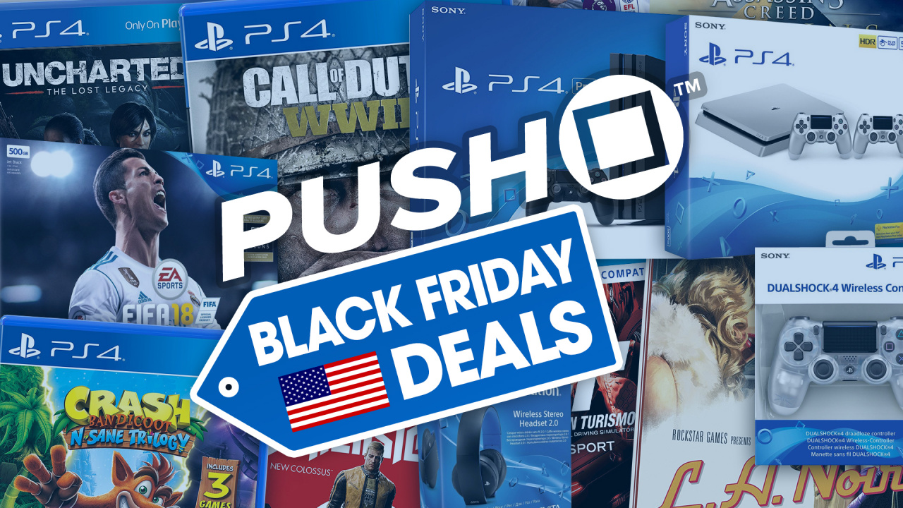 best ps4 black friday 2017 deals usa playstation 4 consoles dualshock 4 controllers. Black Bedroom Furniture Sets. Home Design Ideas