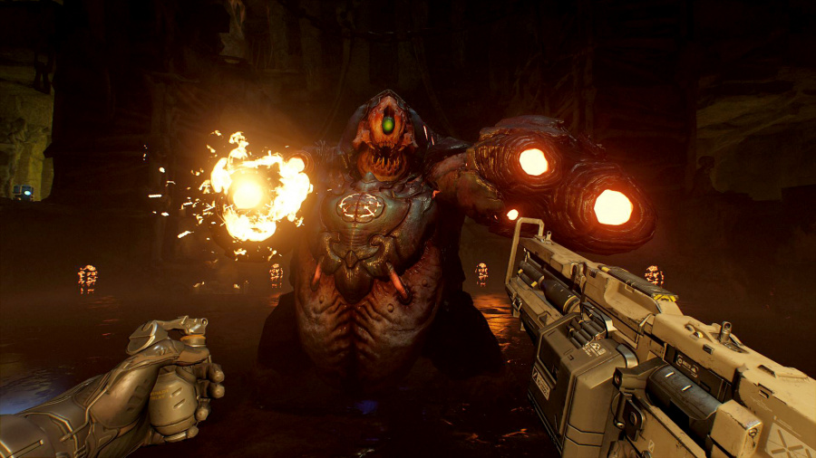 DOOM VFR PS4 PlayStation VR Hands On 2