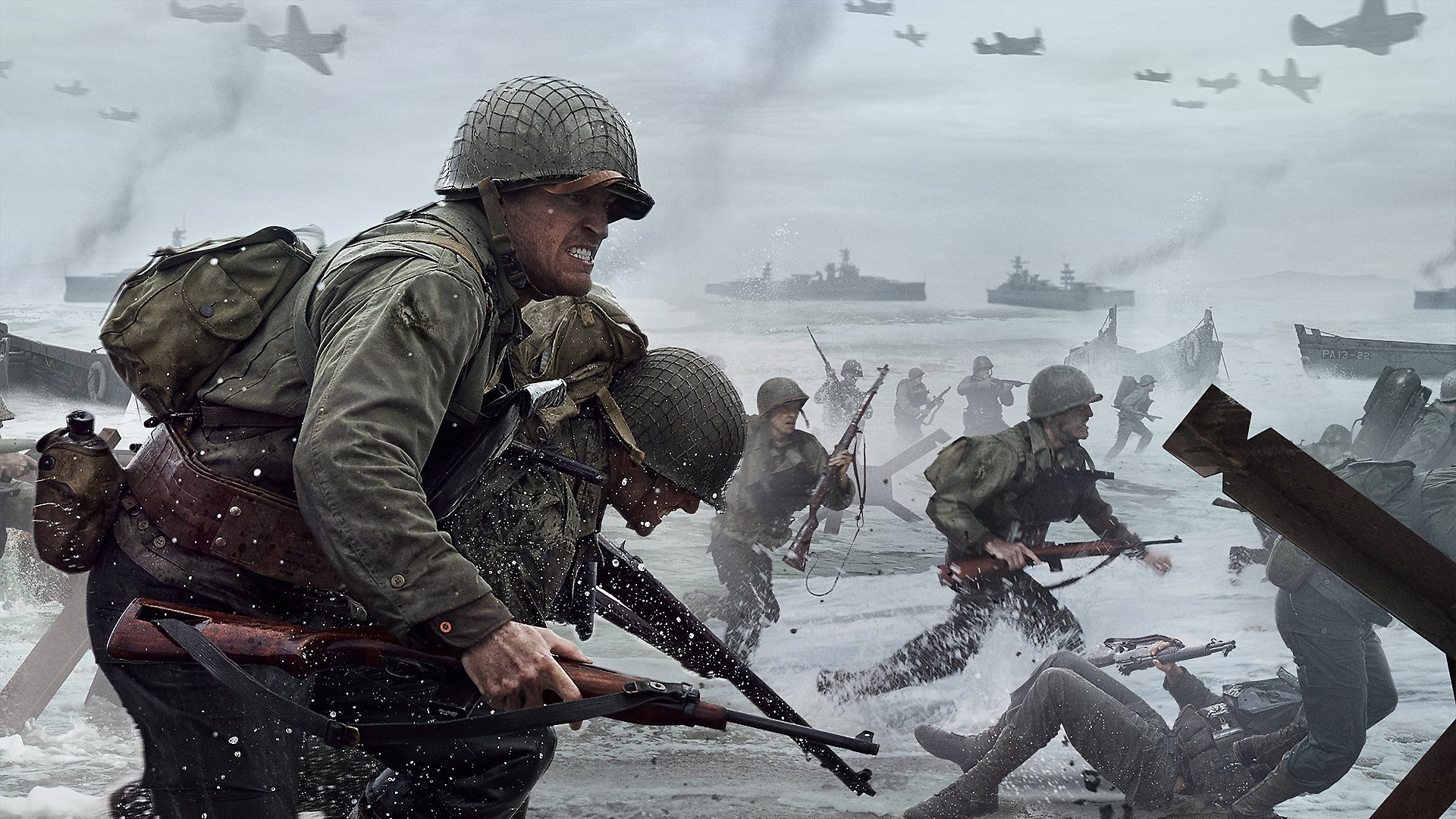 Call Of Duty Ww2 Wallpaper: Japanese Sales Charts: Call Of Duty: WWII Guns Its Way To