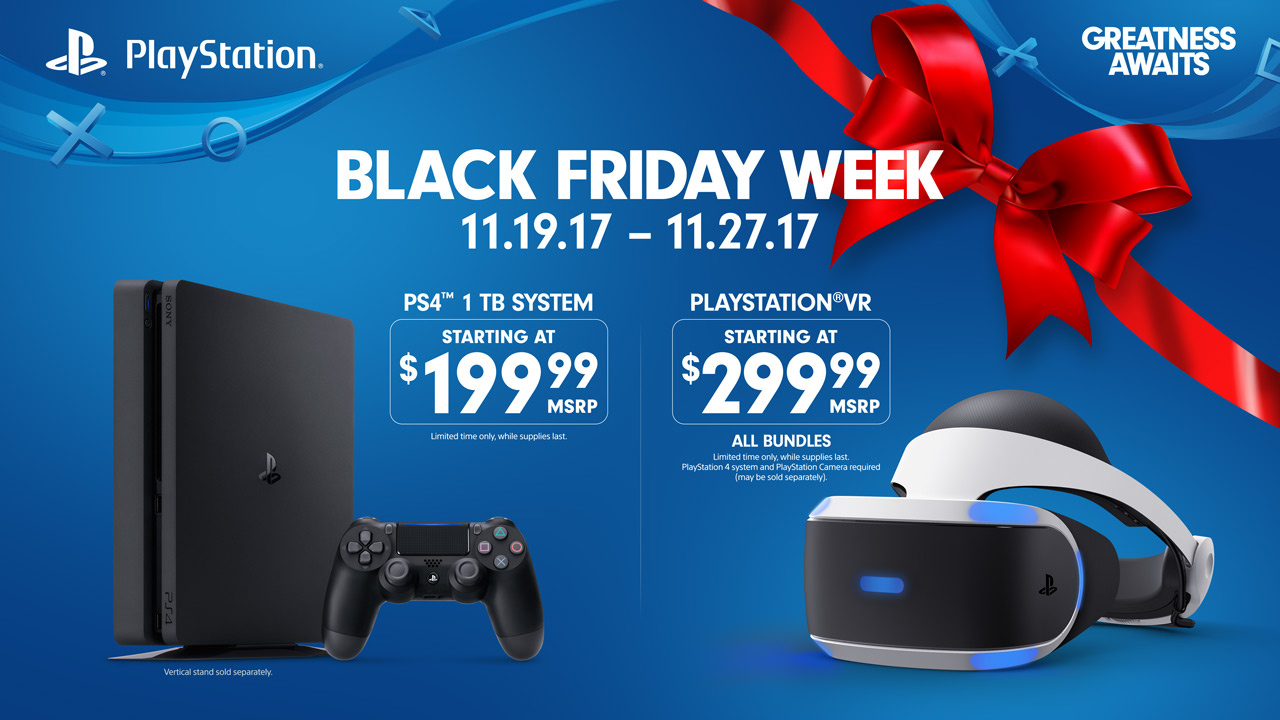 ps4 officially drops to 199 for black friday week push square. Black Bedroom Furniture Sets. Home Design Ideas