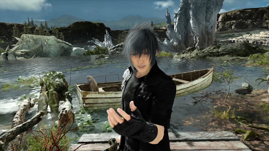 Monster of the Deep Final Fantasy XV PS4 PlayStation 4