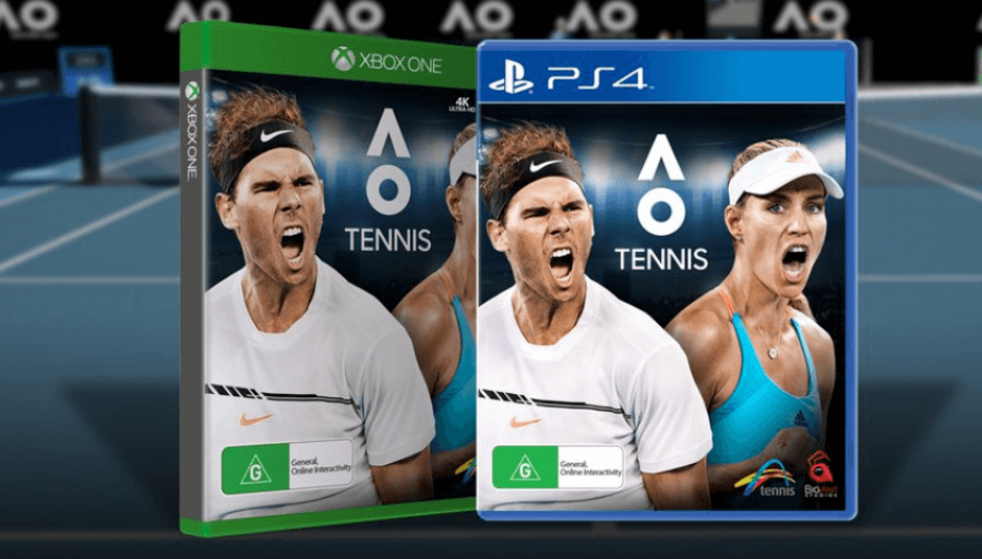 AO Tennis PS4 PlayStation 4 1