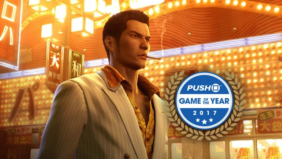 Yakuza 0 Zero Game of the Year PS4