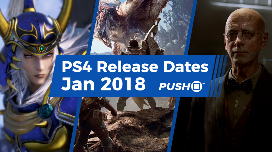 New PS4 Games January 2018 Release Dates 1