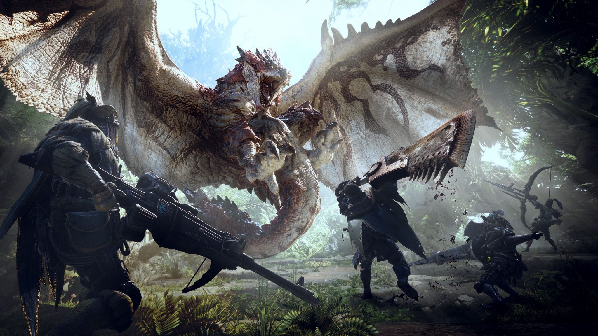 Monster Hunter World New Trailers Focus On The Game's World