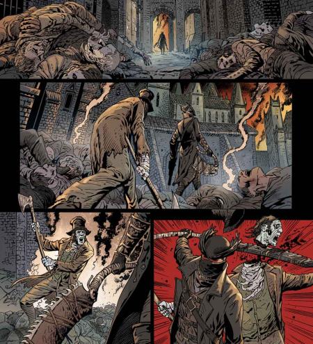 Bloodborne Comic 5