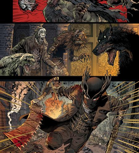 Bloodborne Comic 6