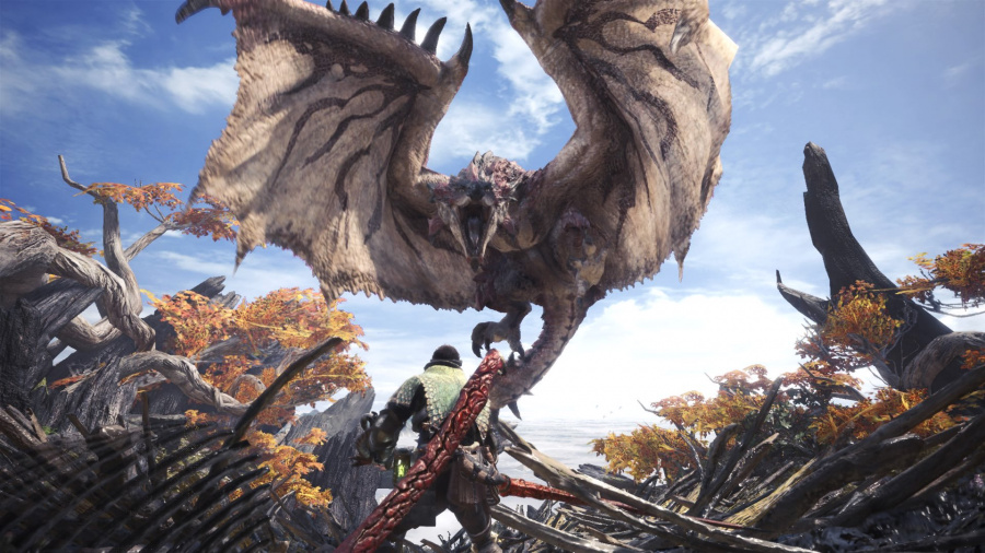 Monster Hunter World PS4 Pro PlayStation 4 1