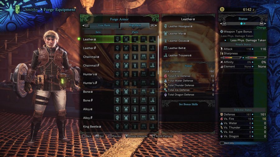 Monster Hunter: World Armor Armour Sets 29