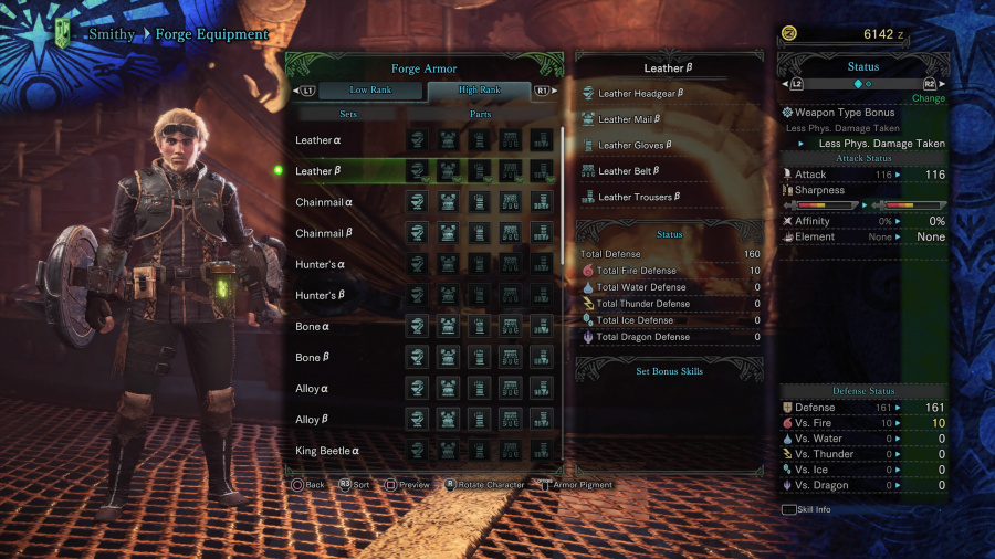 Monster Hunter: World Armor Armour Sets 30