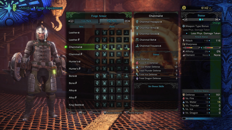 Monster Hunter: World Armor Armour Sets 31