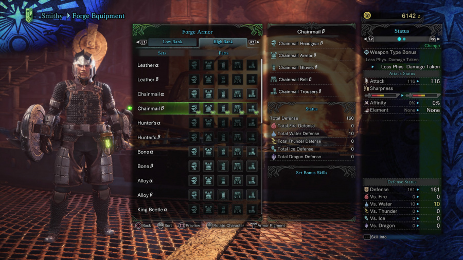 Monster Hunter: World Armor Armour Sets 32