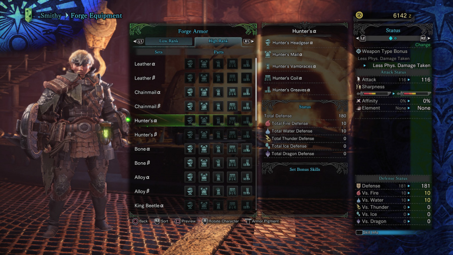 Monster Hunter: World Armor Armour Sets 33