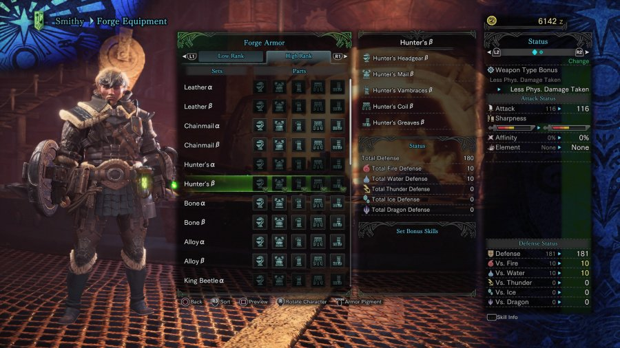 Monster Hunter: World Armor Armour Sets 34