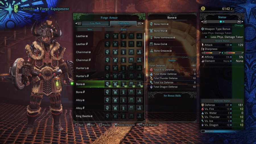 Monster Hunter: World Armor Armour Sets 35