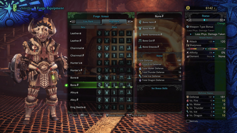 Monster Hunter: World Armor Armour Sets 36