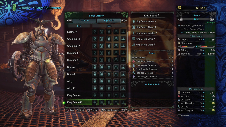 Monster Hunter: World Armor Armour Sets 40