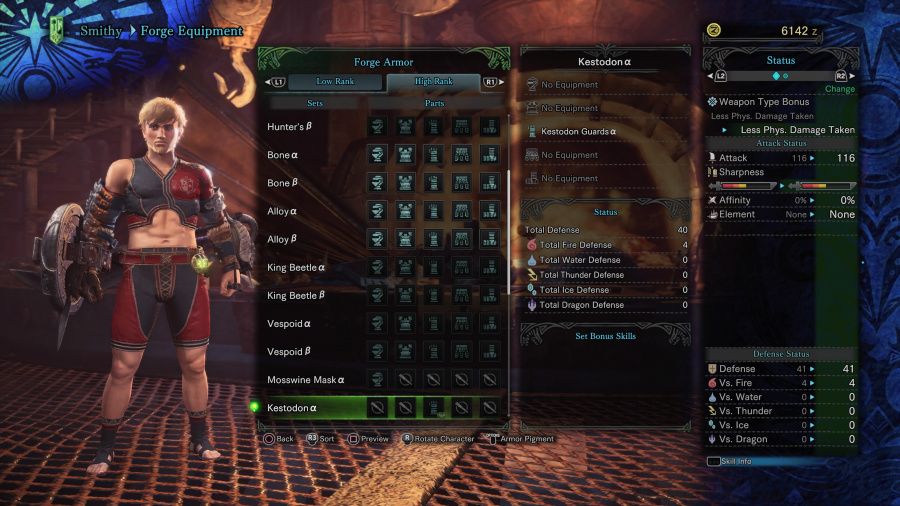 Monster Hunter: World Armor Armour Sets 44