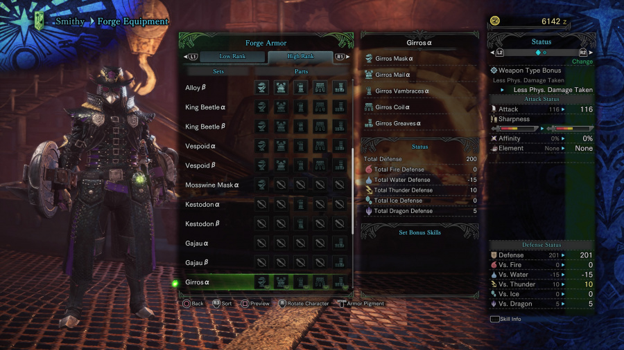 Monster Hunter: World Armor Armour Sets 48