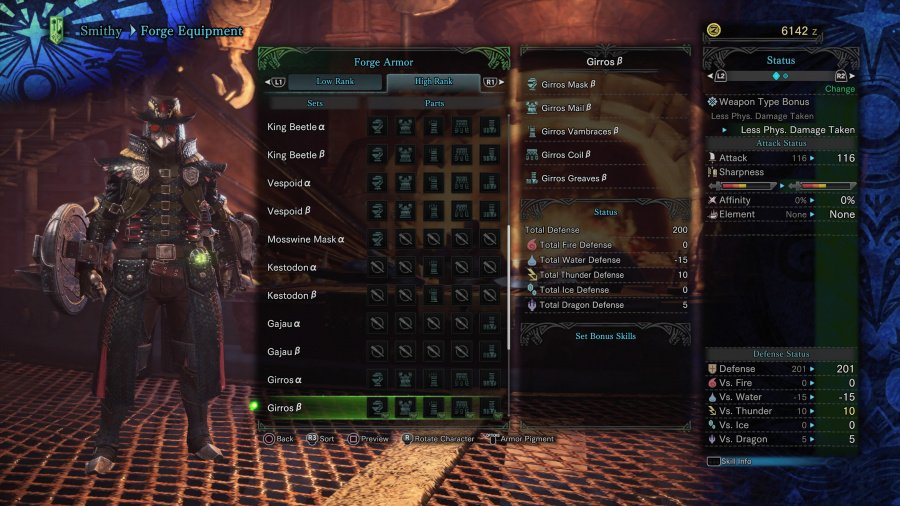 Monster Hunter: World Armor Armour Sets 49