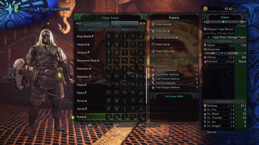 Monster Hunter: World Armor Armour Sets 50