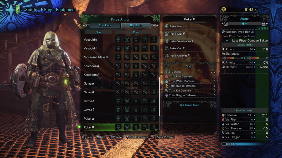 Monster Hunter: World Armor Armour Sets 51