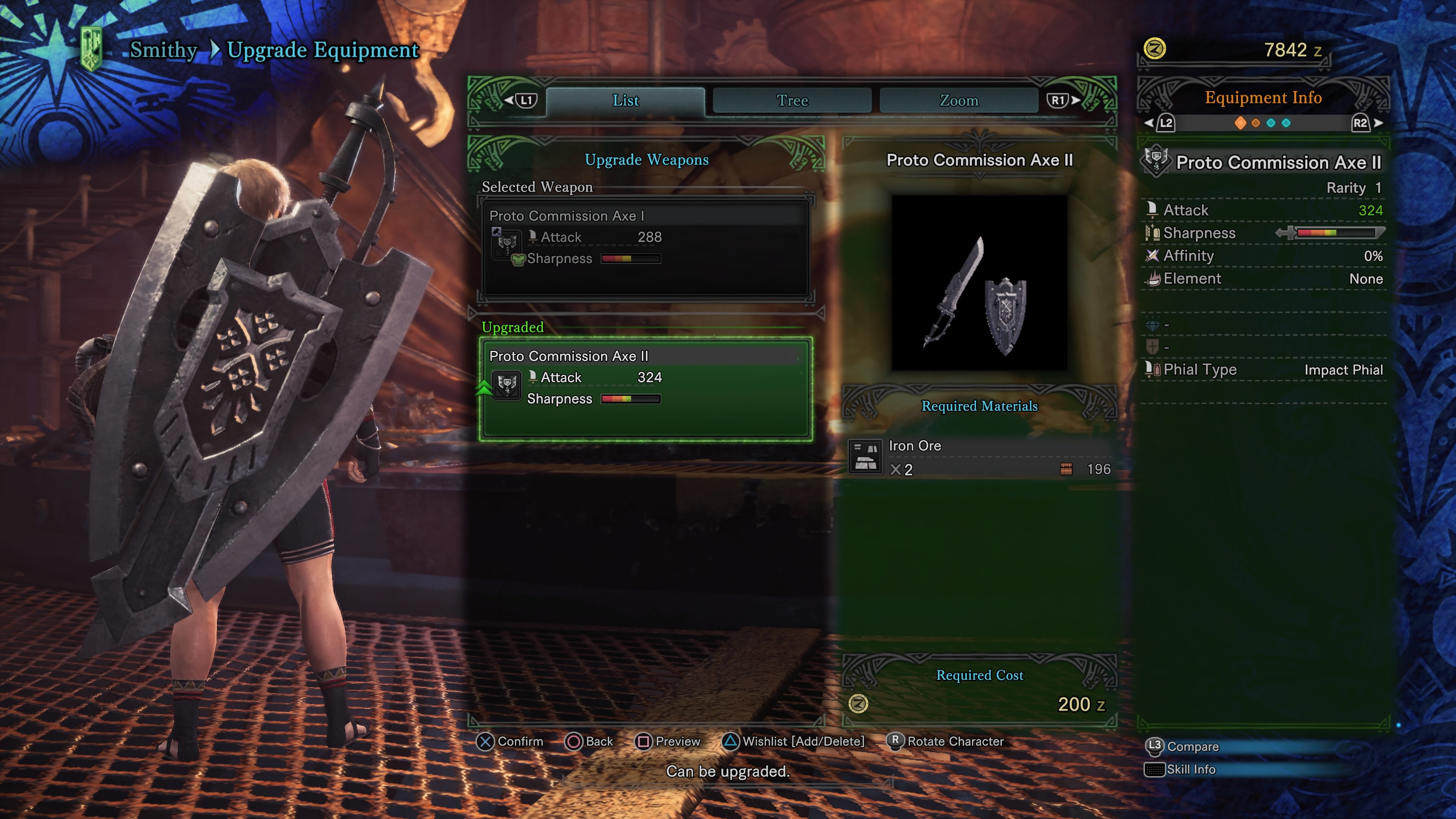 Monster Hunter World Weapons All Charge Blades Upgrade Trees