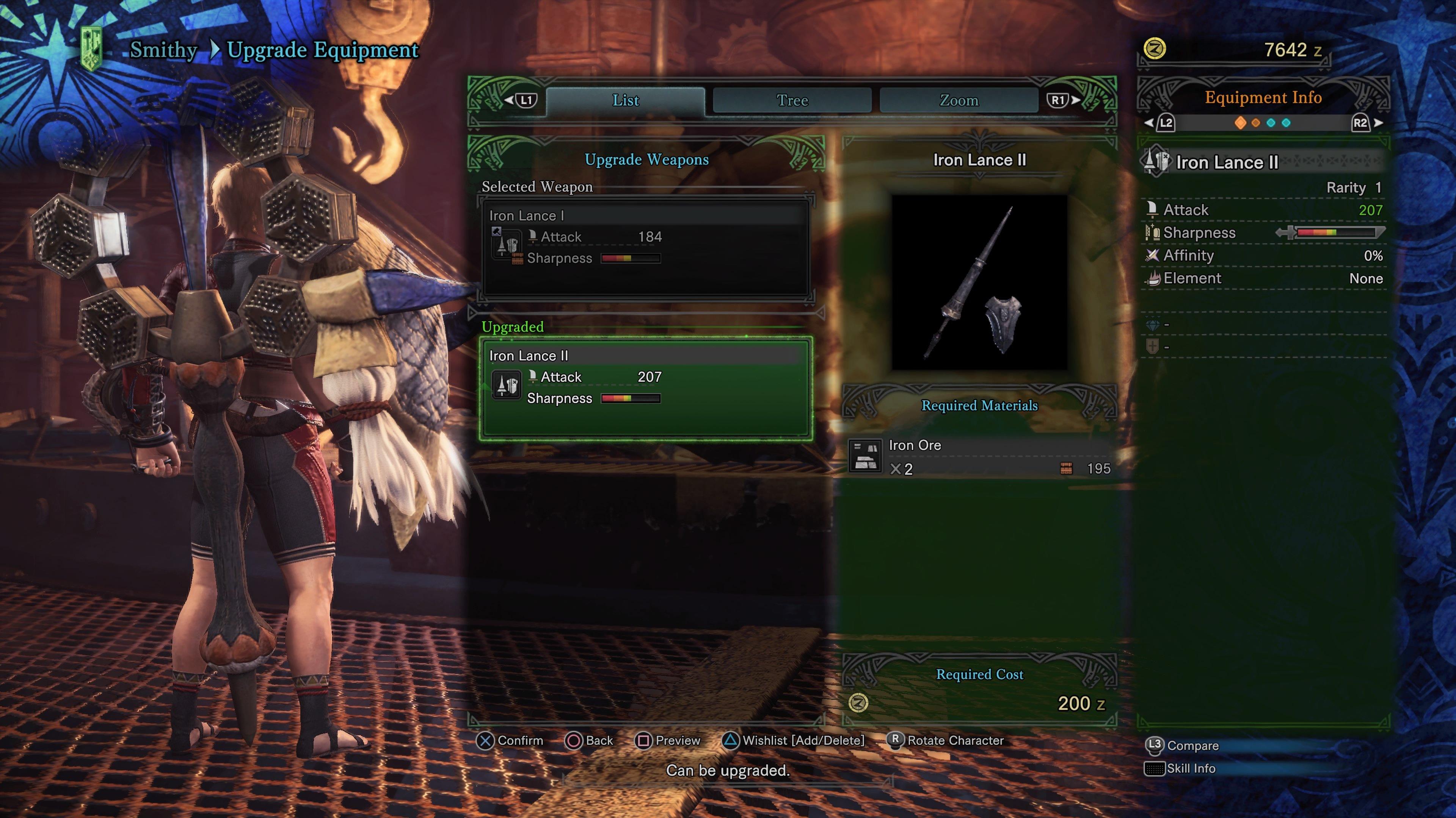 Harvest slots monster hunter world