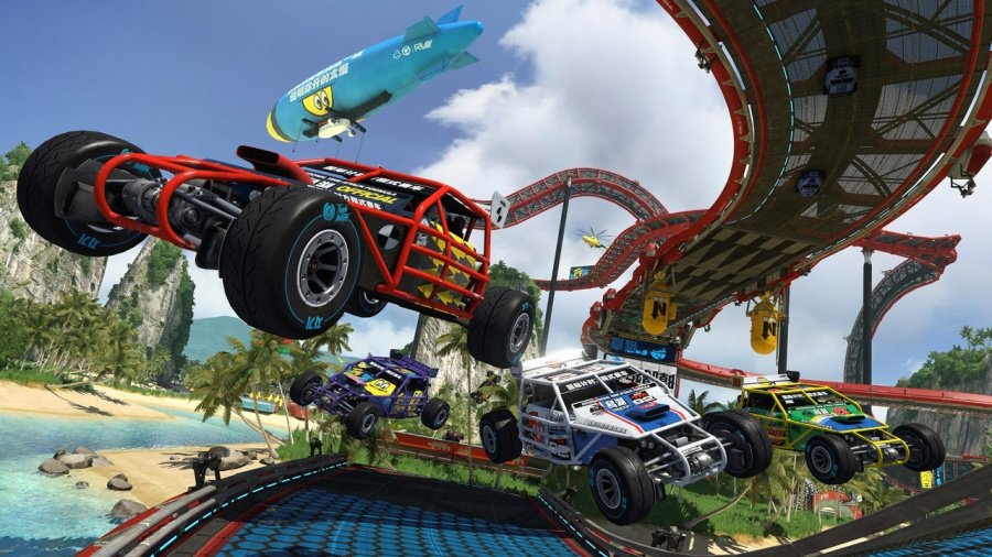 Trackmania Turbo The Best PS4 PlayStation 4 Racing Games