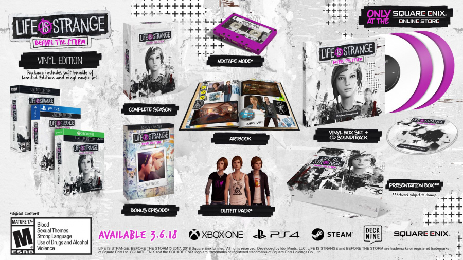 Life Is Strange Before the Storm PS4 PlayStation 4 2