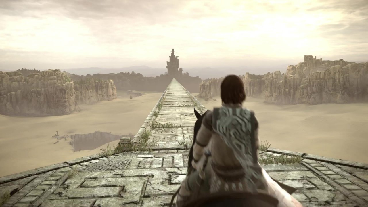 Shadow Of The Colossus Ps4 Wallpaper: What Happens When You Show Shadow Of The Colossus To A Kid