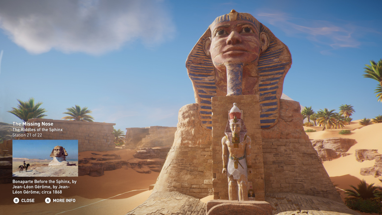 Assassin's Creed Origins' Educational Discovery Mode Tours ...