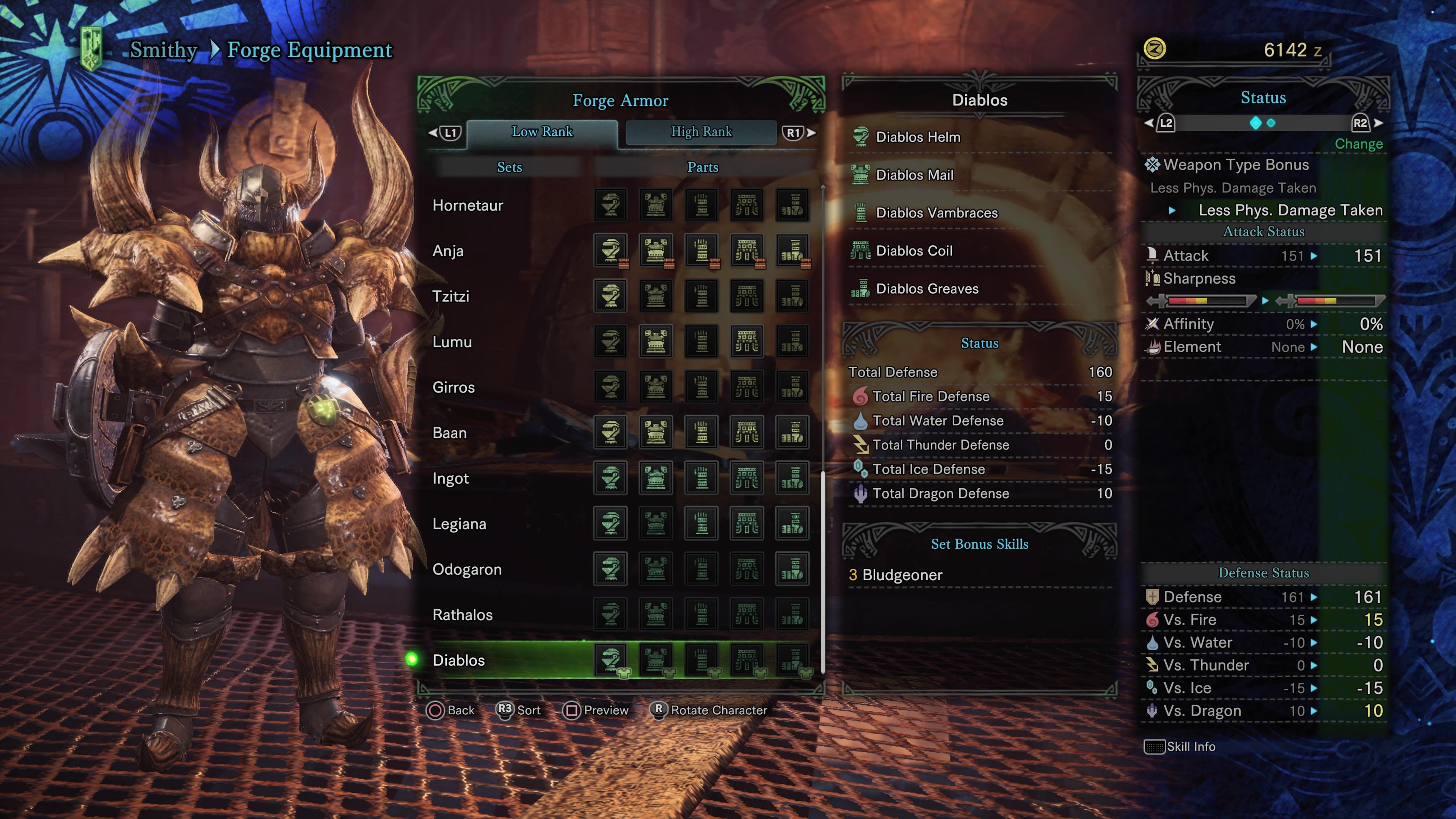 Monster Hunter: World Armor Sets - All Low Rank Armor Sets