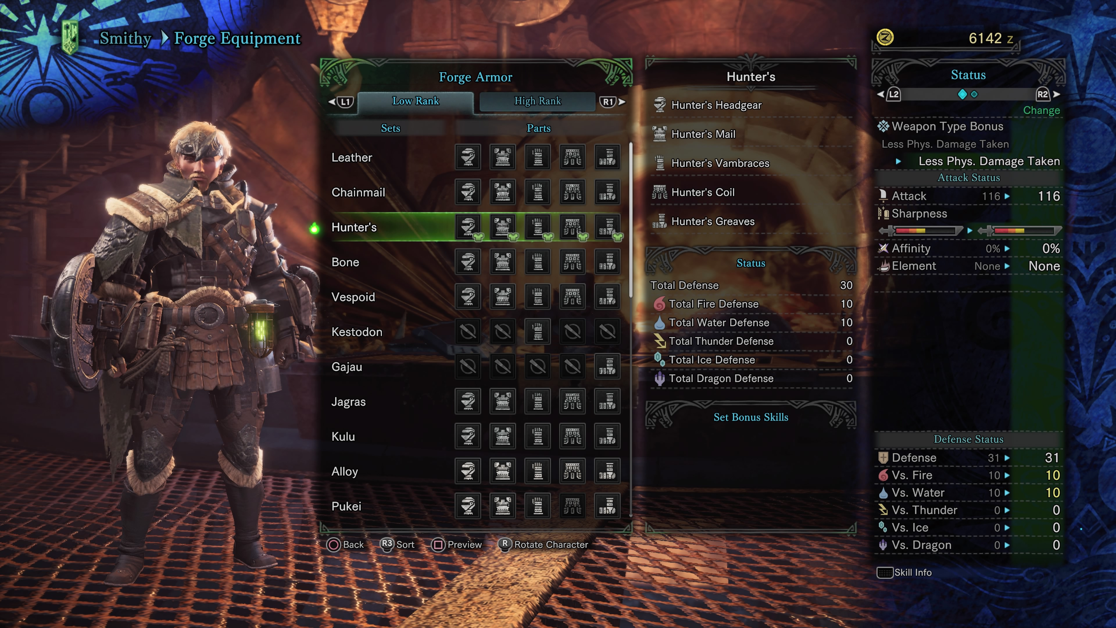 Monster Hunter: World Armor Sets - All Low Rank Armor Sets and How