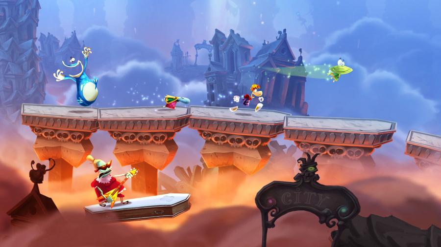 Rayman Legends Best PS4 Co-Op Games