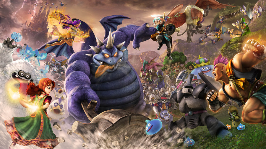 Best PS4 RPGs Role Playing Games Dragon Quest Heroes II 2