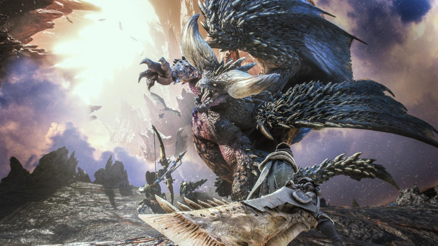 monster hunter world ps4 player count