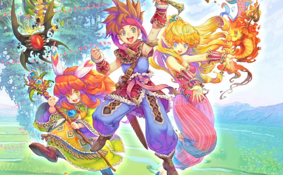 Secret of Mana PS4 PlayStation 4 1