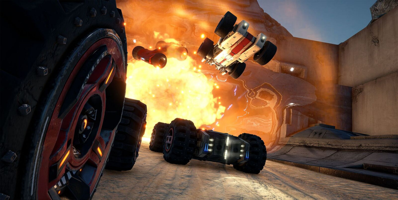 Tracks For Vehicles >> GRIP, a Brand New Combat Racer, Announced for PS4 - Push Square