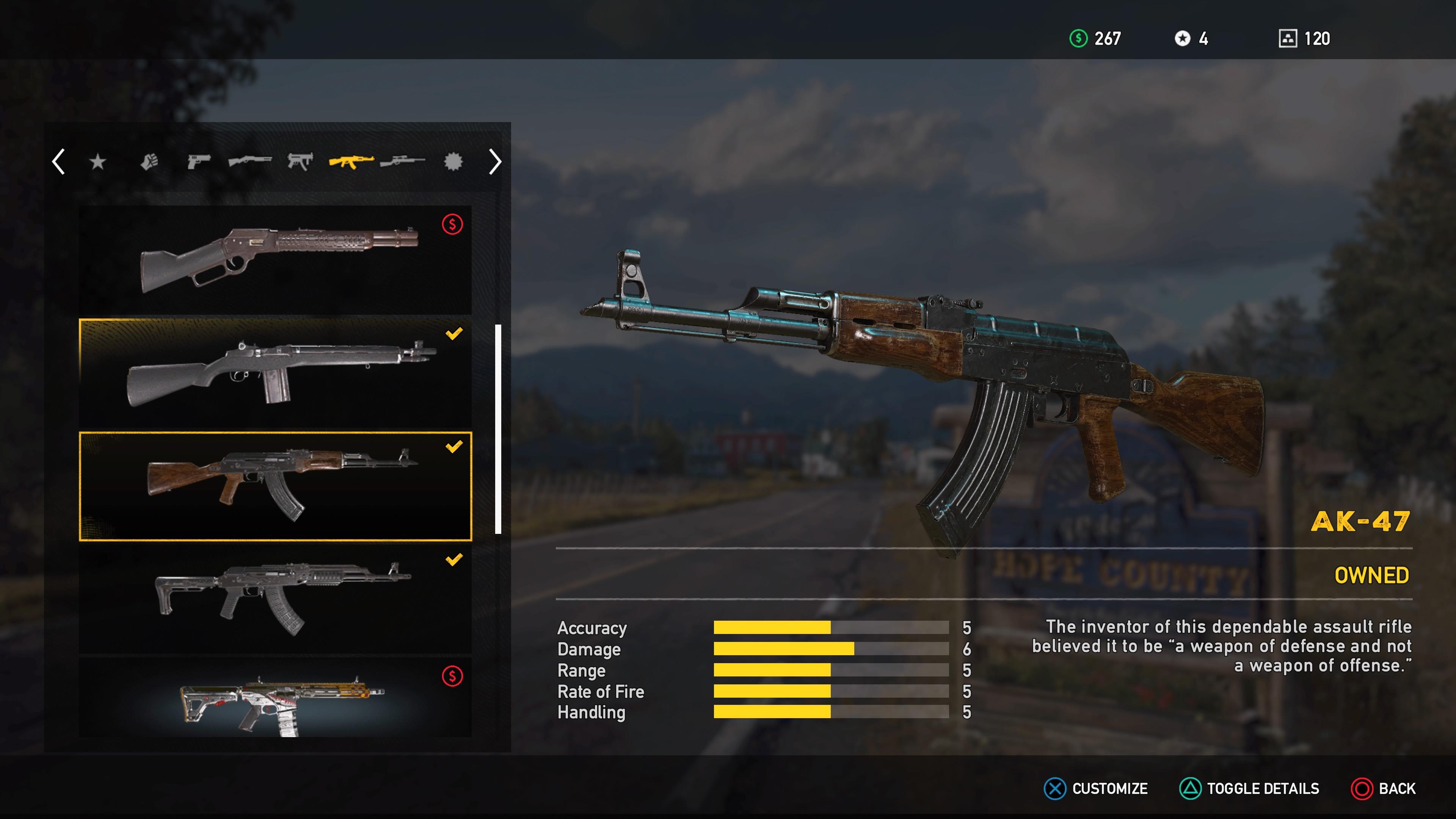 Far Cry 5 Weapons List: All Unlockable Melee, Sidearms