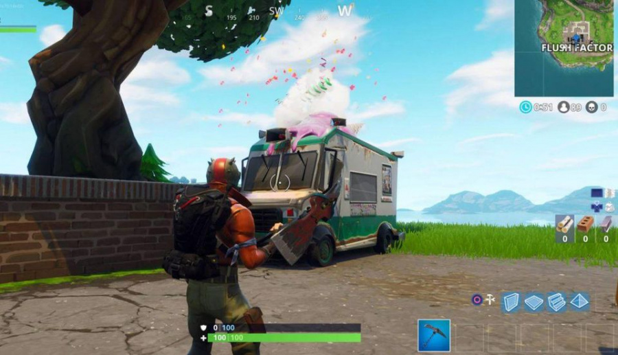 Fortnite Ice Cream Trucks Locations: How to Find Them and What They Do
