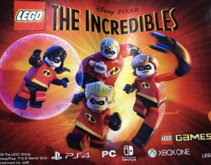 LEGO The Incredibles PS4 PlayStation 4