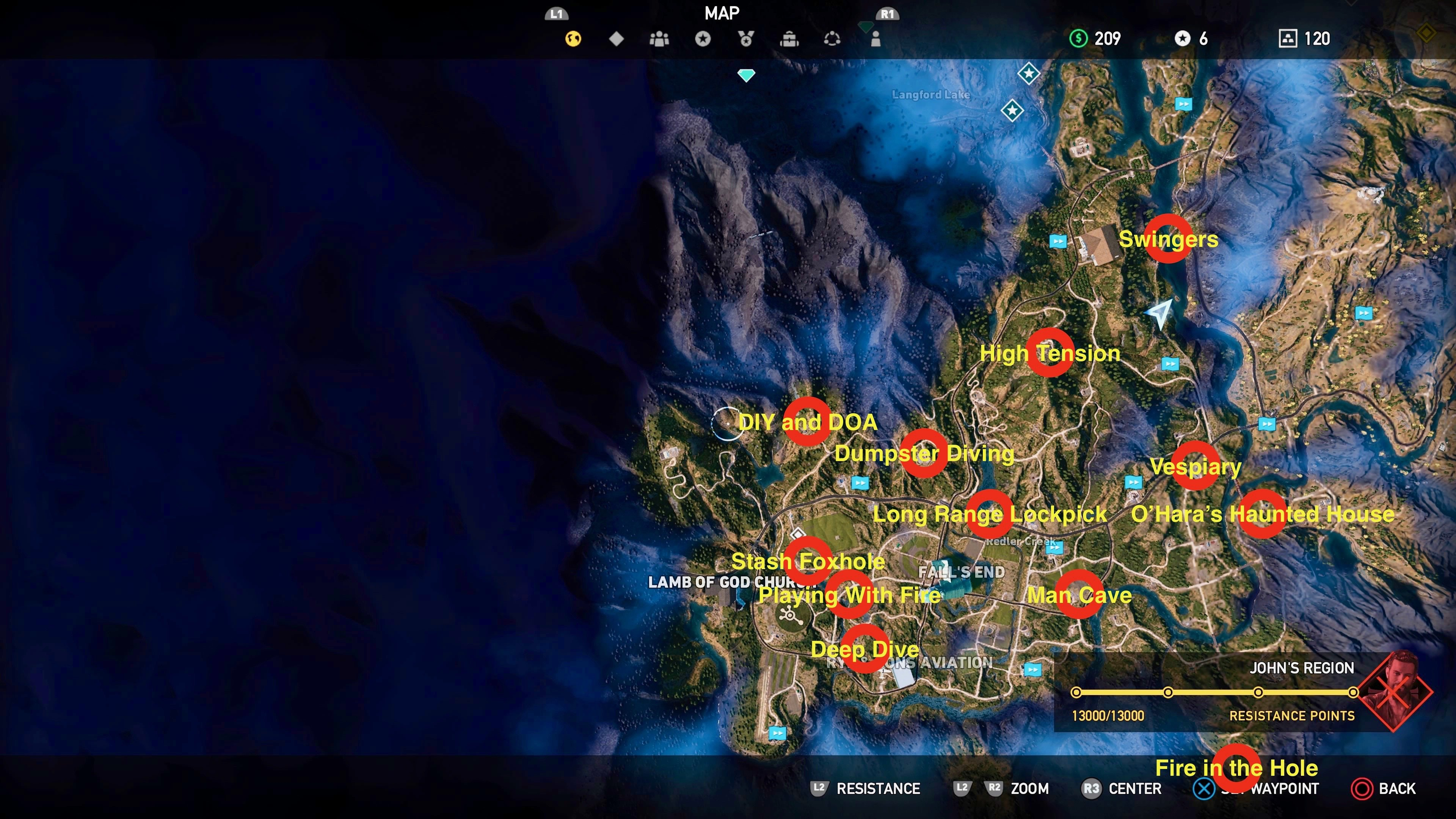 Far Cry 5 Prepper Stash Locations And Rewards How To