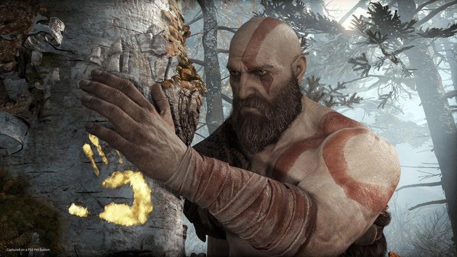 how to full screen god of war ps4 ile ilgili görsel sonucu